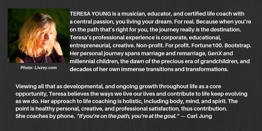 Teresa Young ~ Life Coaching Bio