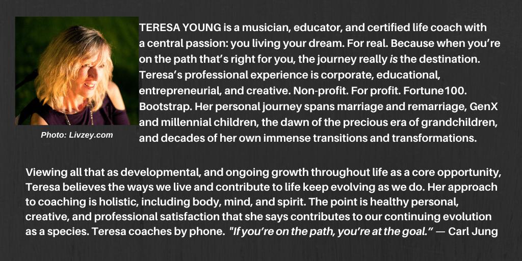 Life Coach Teresa Young's Bio